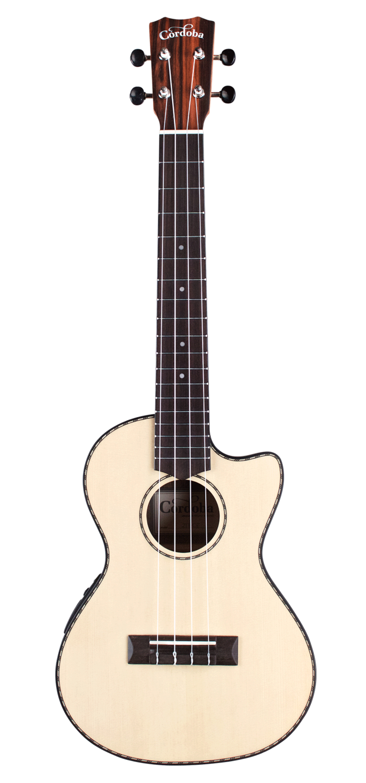 Cordoba 21T-CE Tenor Cutaway Acoustic Electric Ukulele