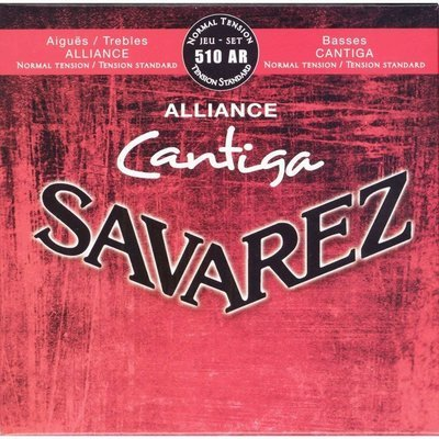 Savarez 510AR Alliance Cantiga - Classical Guitar Strings, Normal Tension
