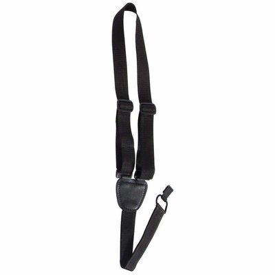 Ukulele Strap, Black On-Stage GSA70B