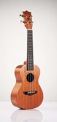 Winzz Sunrise Concert Ukulele - All Mahogany + Stagg Gig Bag + Cherub Digital Tuner