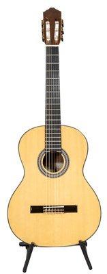 Calido CG 1210 Classical Guitar - Solid Spruce top, Ebony fretboard, Mahogany back/sides - Free Cordoba Polyfoam Case