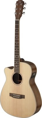 James Neligan ASY-ACE Left Handed Steel String Acoustic Electric Guitar