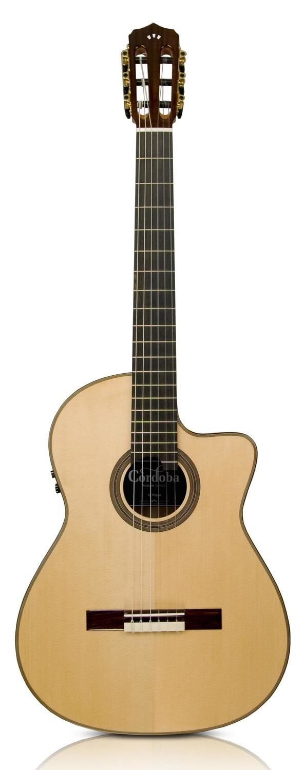 Cordoba Fusion 12 Maple - Acoustic Electric Nylon String Classical Guitar with Cordoba Humicase