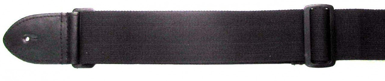 "Stagg Nylon Guitar Strap - 2"" x 5.7' - Black 00041"