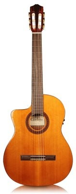 Cordoba C5-CE - Lefty - Acoustic Electric Nylon String Guitar with Cordoba Deluxe Gig Bag