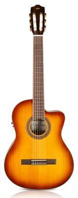 Cordoba C5-CE Sunburst - Nylon String Acoustic Electric Cutaway Guitar