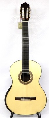 Calido CG 3222-SAX - Solid Spruce Top - Lattice Braced, Arched Indian Rosewood Back
