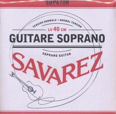 Soprano Guitar Strings - Set of 6 - Savarez SOP670R