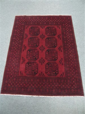Afghan Tribal Rug Sold.