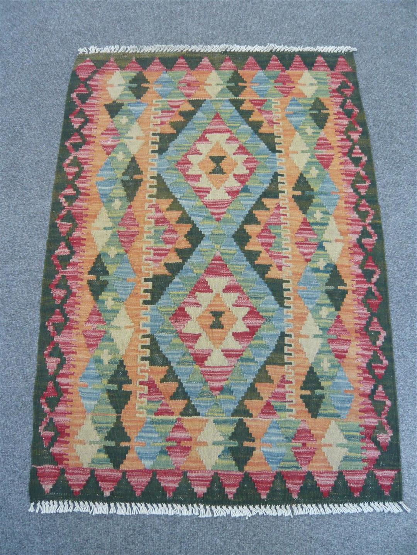 Natural Dyed Kilim 618285