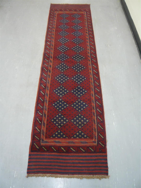 Afghan Tribal Kelim Runner 8'2