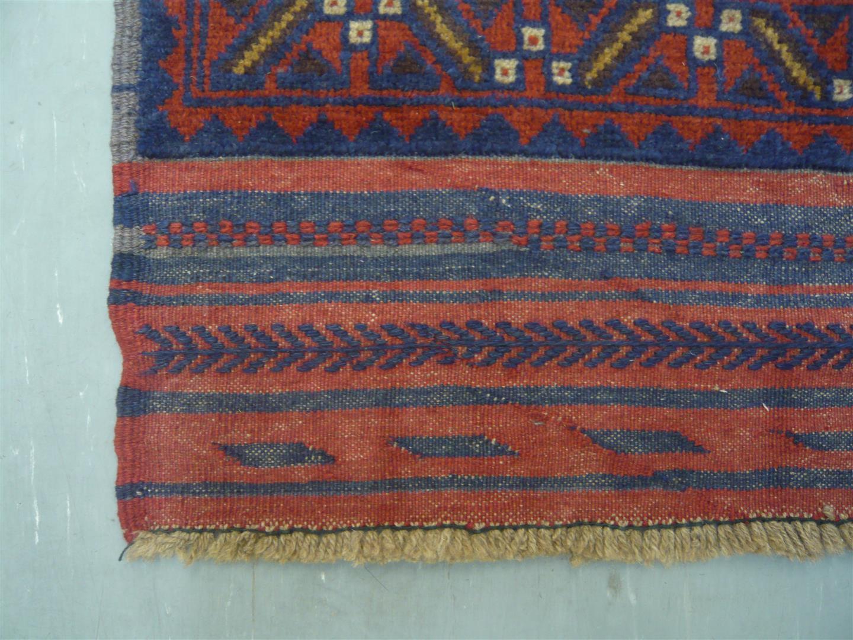 Afghan Tribal Kelim Runner 9'