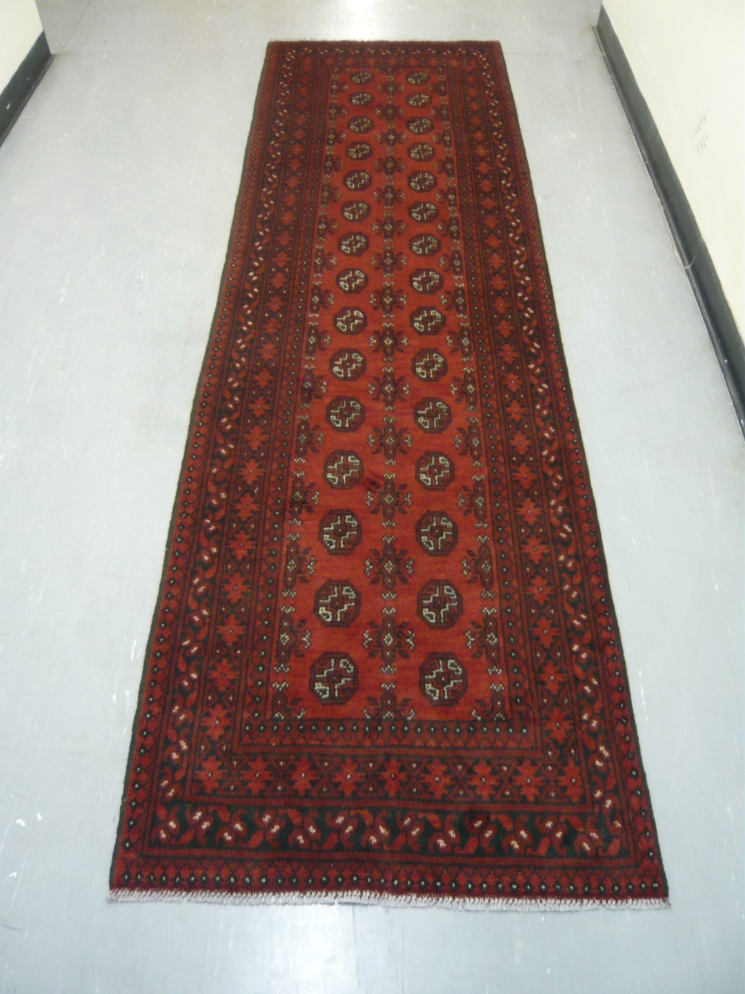 Afghan Tribal Runner 9'4