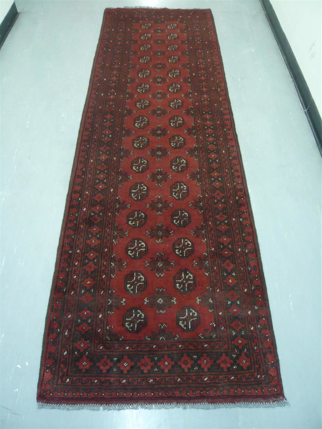 Afghan Tribal Runner 9'3
