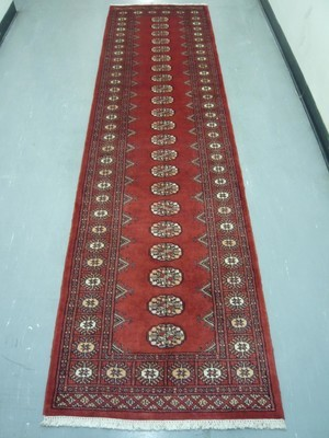 Pakistan Bokhara Runner 10' Red