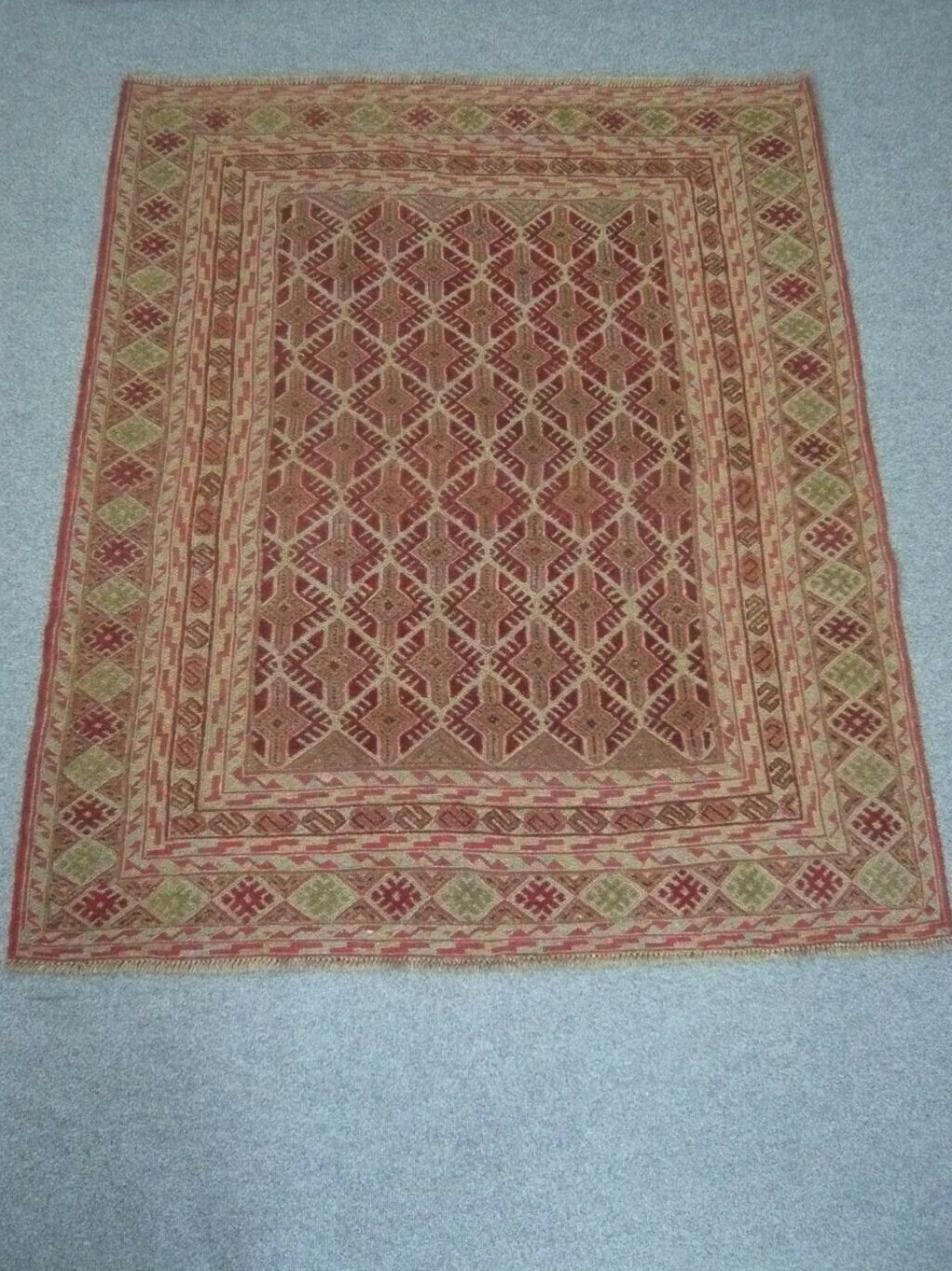 Afghan Tribal Kelim Sold.