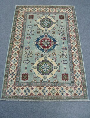 Afghan Rug Pale Green
