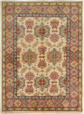 Afghan Rug Cream Sold.