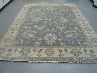 Indian Rug Pale Blue