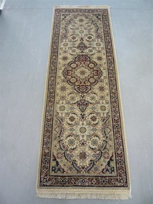 Indian Chakhari Runner 6' Cream/Red
