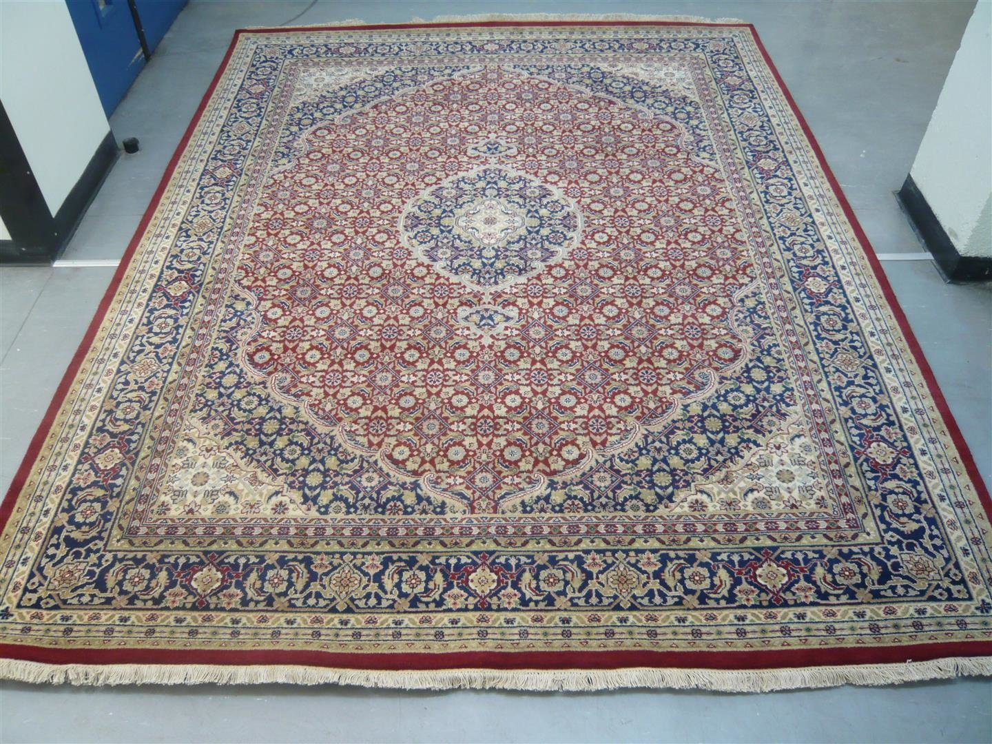 Indian Chakhari Rug Red/Blue Sold. 817314