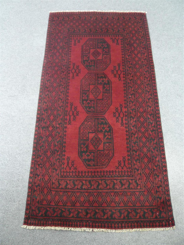 Afghan Tribal Rug 317184