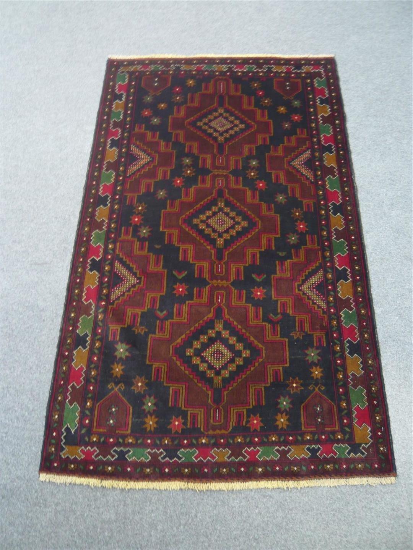 Fine Afghan Tribal Rug 917407