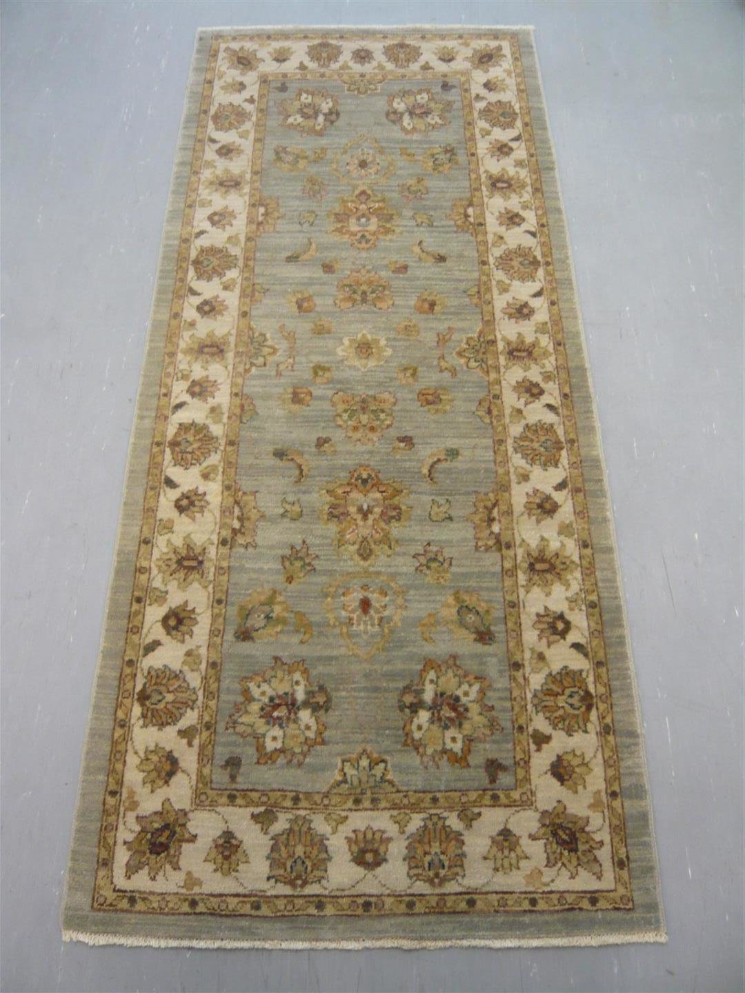 Indian Natural Dyed Runner 6'4