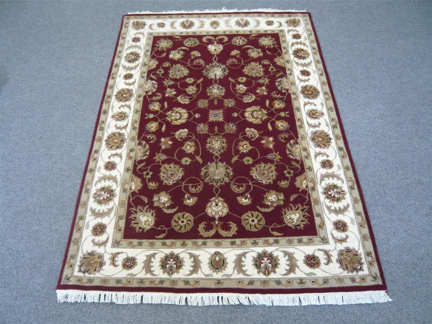 Fine Indian Wool/Silk Rug Half Price