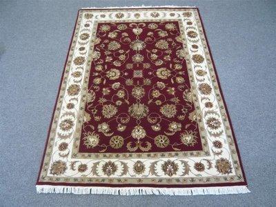 Fine Indian Wool/Silk Rug Half Price