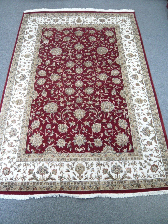 Fine Indian Wool/Silk Rug 218179