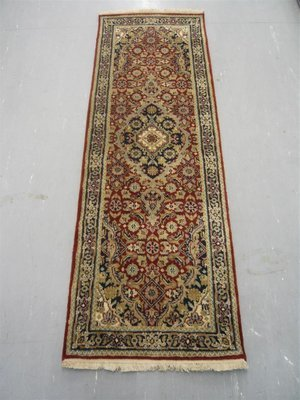 Indian Chakhari Runner 6' Red/Blue