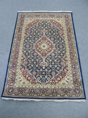 Indian Chakhari Rug Blue/Red