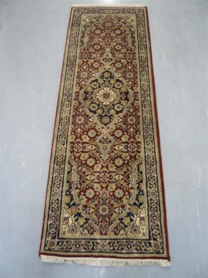 Indian Chakhari Runner 6' Red/Blue Sold.