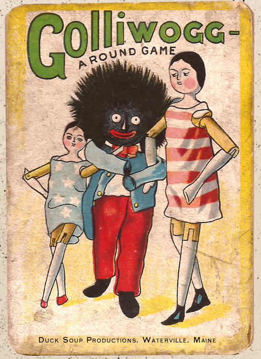 The Pictorial Game of Golliwogg - Reproduction Deck