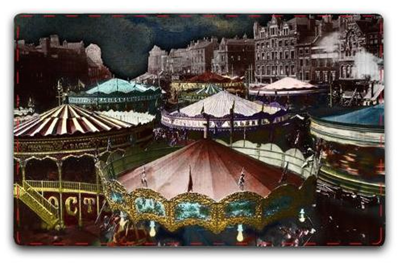 "Zirkus ""CAROUSELS"" Large Size Reading Mat"