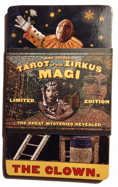 Tarot of The Zirkus Mägi - original MAJORS edition