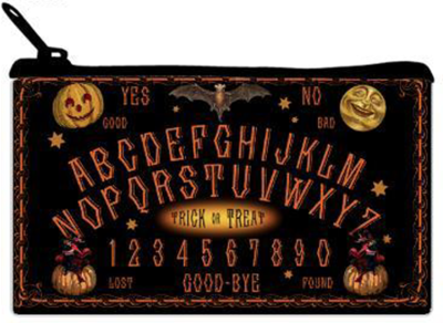 Halloween Talking Board TAROT or Accoutrements Bag