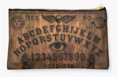 Vintage-style TALKING BOARD Tarot & Accouterments Bag.