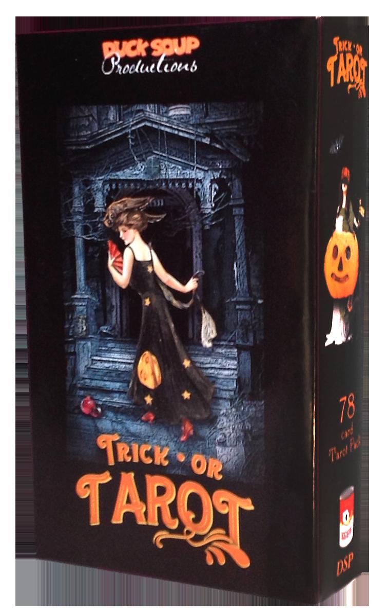 TRICK or TAROT - Halloween-themed Tarot Pack
