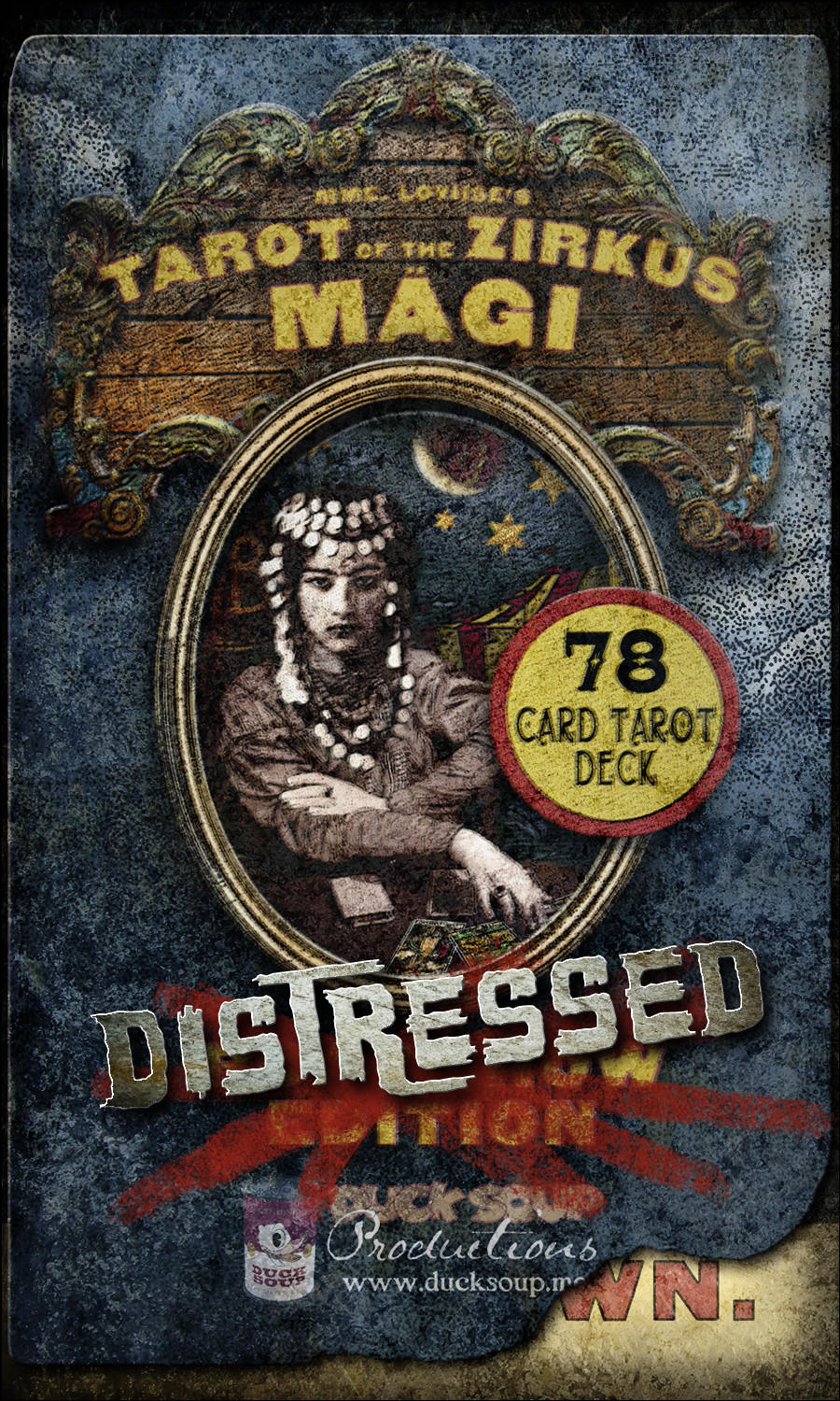 Tarot of The Zirkus Mägi - DISTRESSED Edition