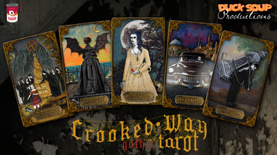 Crooked Way Gothic Tarot: Bitter Pill Edition