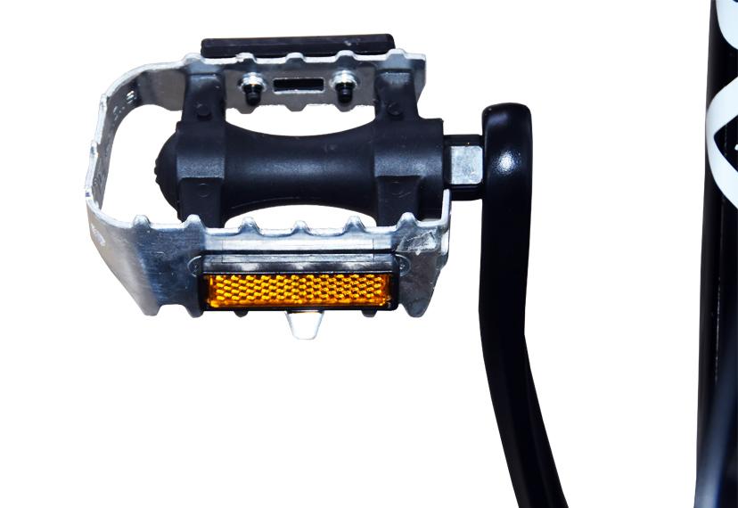Alluminium pedal