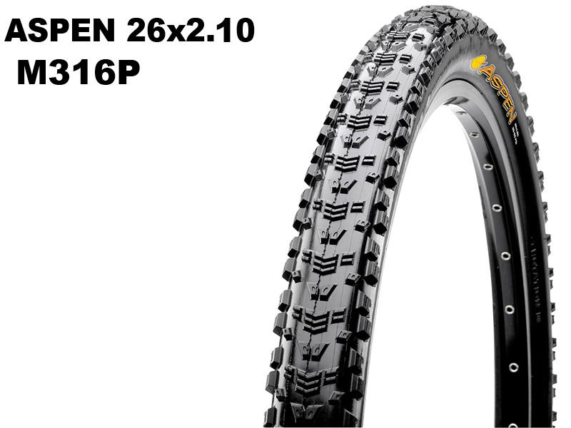 Aspen 26x2.10 M316P Wire 14344 / TB69797000
