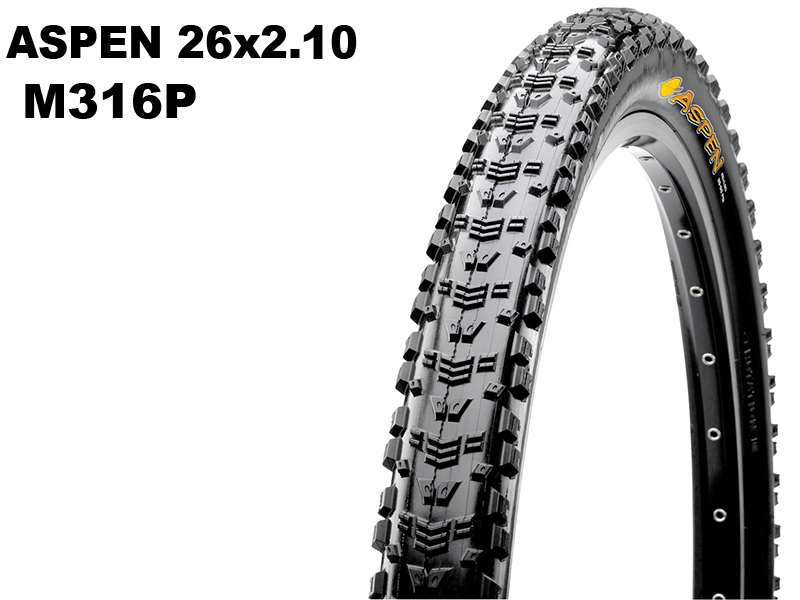 Aspen 26x2.10 M316P Wire