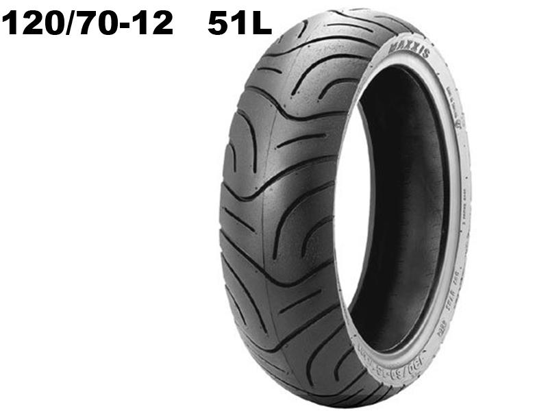Maxxis 120/70-12 51L 14302