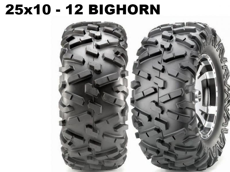 Maxxis ATV 25x10 - 12 Bighorn 14315