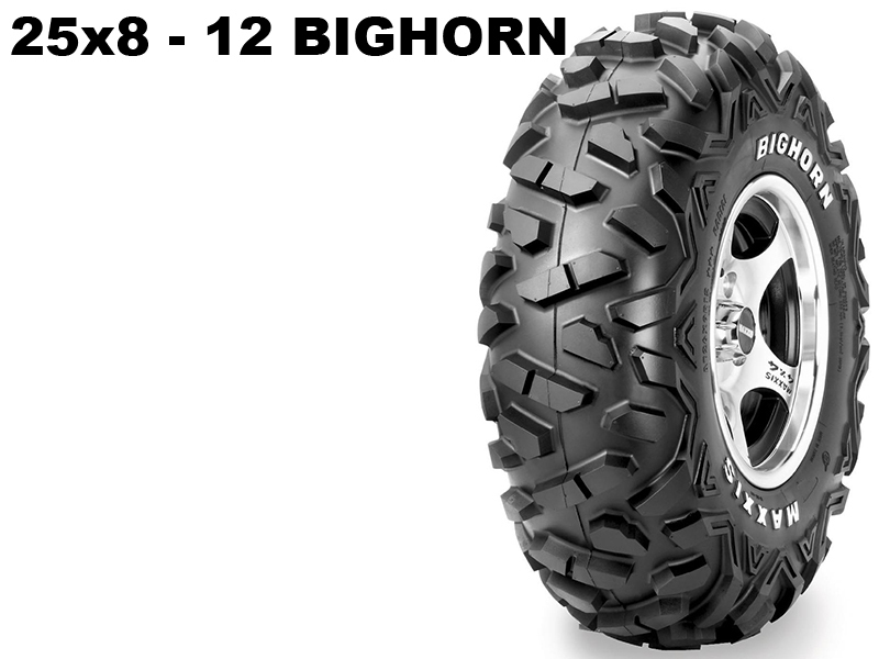 Maxxis ATV 25x8 - 12 Bighorn 14316