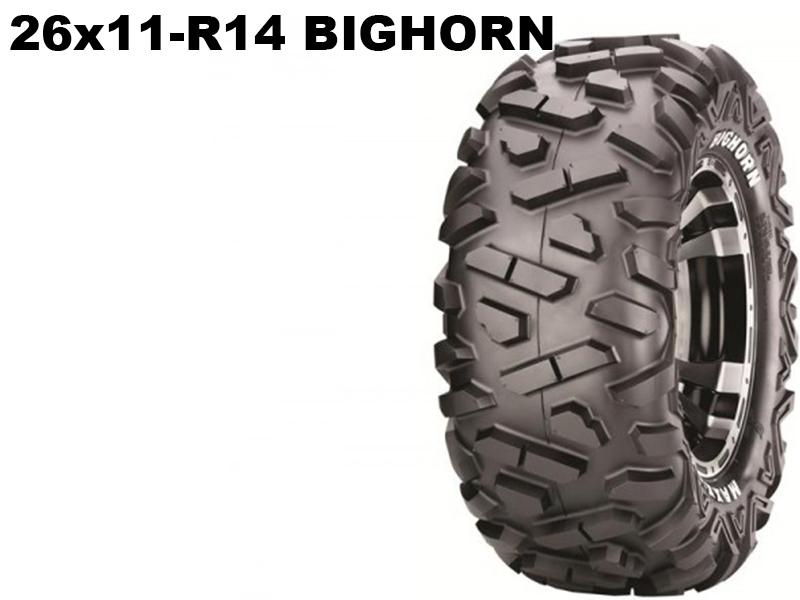 Maxxis ATV 26x11 - R14  Bighorn 14314