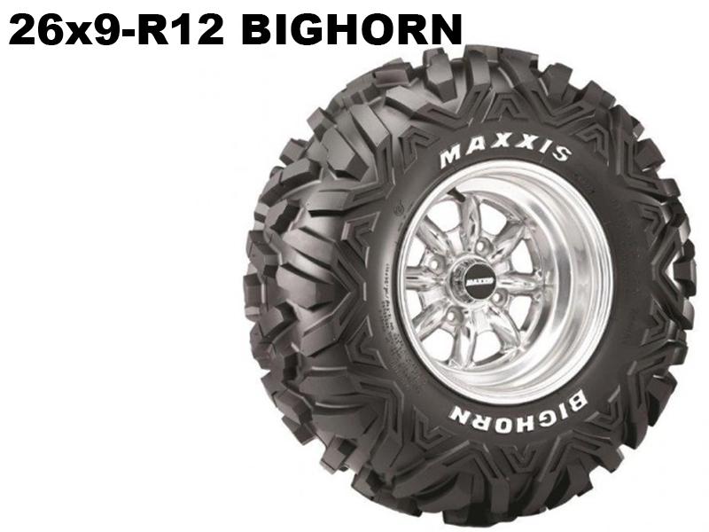 Maxxis ATV 26x9 - R12  Bighorn 14311